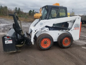 2009 BOBCAT S160 SKIDSTEER WITH ATTACHMENTS