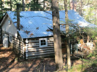 Rustic, private LOG CABIN for RENT!