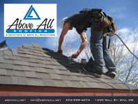 Above All Roofing – Roofing at a Higher Level