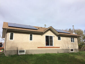 Fully Installed 5kw solar system roof mount