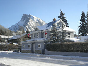 New to Banff and tired of staying at a hostel?