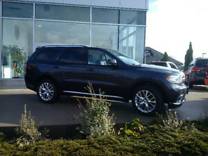 New 2016 Dodge Durango Limited AWD Finance from 0% London Ontario image 1