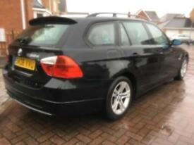 2008 BMW 318 D 2.0 150 SE 5 DR TOURING MANUAL BLACK OUTSTANDING CONDITION