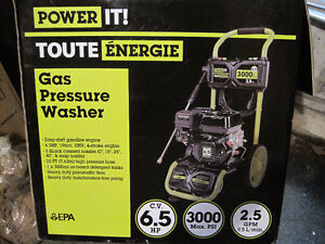 Brand new 3000 psi pressure washers