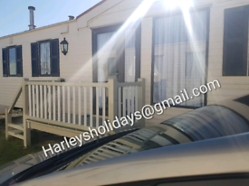 2 Bed cottage style caravan in Edwards leisure park Towyn.