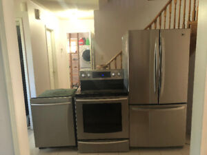 Stainless steel appliance (fridge,stove,dishwasher) *Can deliver