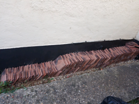 Clay roof tiles x 270