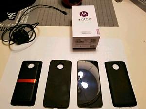 """Moto Z unlock 32GB 5.5"""" a vendre ou échange !"""
