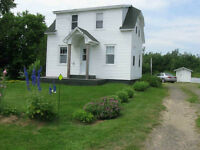 2 bedroom just outside Cocagne 30 min. from Moncton.