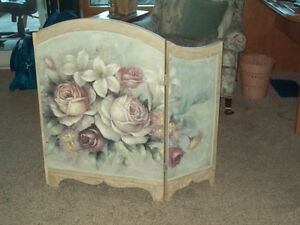 F.P Screens, One winter, one summer hand painted,$70.00 both