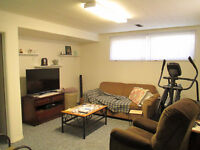 East Side 1 Bdrm Basement Suite (Clarence and Taylor area)