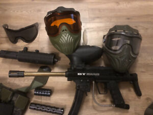 Paintball Gun and extras