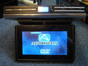 Audiovox VE927 9-Inch LCD Drop-Down TV with Built-In DVD Player