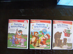 6 videos - Baby Einstein and Baby Genius Kitchener / Waterloo Kitchener Area image 2