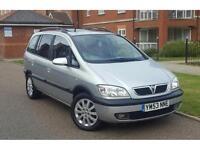 2004 Vauxhall Zafira 1.8 i 16v Elegance 5dr **IMMACULATE+DRIVES WELL**
