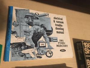 Ford Lincoln  Mercury shop manual Oakville / Halton Region Toronto (GTA) image 3