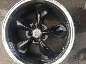 4 x American racing limited edition aluminum 20 inch black rims