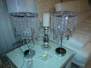 "2 x 18"" table lamps Cornwall Ontario image 3"