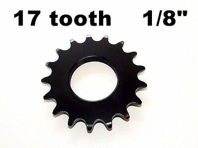 17T FIXED GEAR COG 17 TOOTH 1/8
