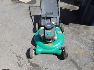 1 lawn mower briggs & stratton 4 hp works great asking $95 with