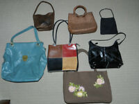 various women's purses (7 to choose from!)