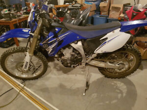 2009 Yamaha WR450F Mint Low KM's