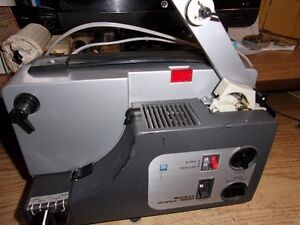 Sankyo dual 8mm projector with speed control