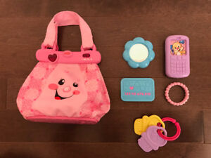 Fisher-Price Laugh & Learn My Pretty Learning Purse - English