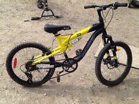 "20"" kranked factor 6 speed bike"