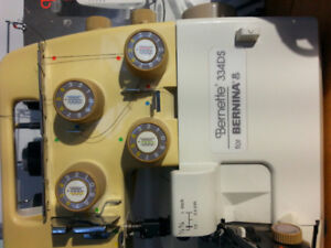 Bernette 334DS by Bernina. Perfect condition!  $325