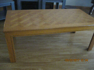 COFFEE TABLE AND ONE END TABLE