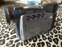 Canon digital camcorder boxed instructions all leads etc as new