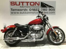 Harley Davidson XL883 Sportster Superlow 12 plate with only 4500 miles