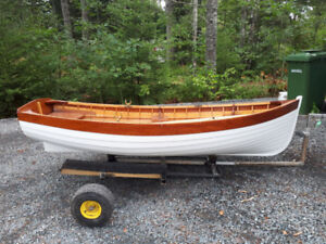 Beautifully Crafted Lawley Wooden Yacht Tender