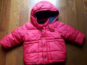 Manteau Coldcontrol de Gap pour bébé- 12 à 18mois