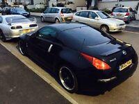 2005 Nissan 350z low mileage 3.5l petrol 287bhp