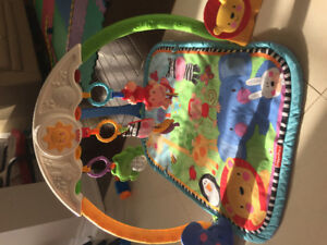 Fisher price baby tummy time mat baby gym