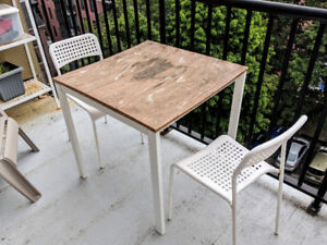 Patio Table and Chairs, Full Set for only $50!