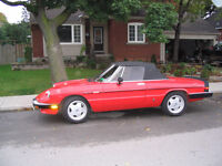 Alfa Romeo Spider - Sale or Trade for Classic Muscle Car