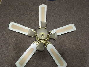 "52"" 5-light ceiling fan great shape"