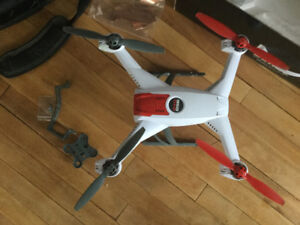 Blade 350QX drone, controller, batteries and many extras