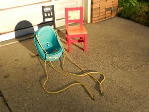 Kindergarten Chair and Swing Set Bucket Edmonton Edmonton Area image 1