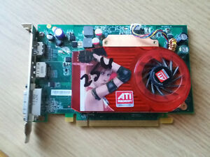 radeon 256 pci-express video car