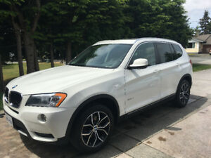 2013 BMW X3 xdrive28i White