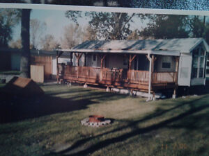 Complete porch, lean to or carport