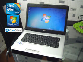 "May Deliver - Toshiba Satellite Pro - Windows7 64Bit - 15.6"" - Intel 4.2Ghz - 320Gb - Office"