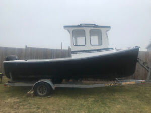 20 foot cape island boat with 90 HP Suzuki 4 Stroke outboard
