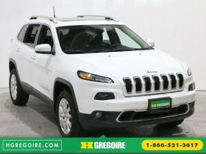 2016 Jeep Cherokee Limited 4WD MAGS A/C GR ELECT BLUETOOTH TOIT
