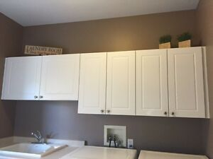 Laundry Room cabinets and sink London Ontario image 1