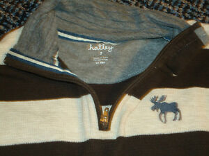 Boys size 7 Long Sleeve Mockneck Sweater by ***Hatley*** Kingston Kingston Area image 2